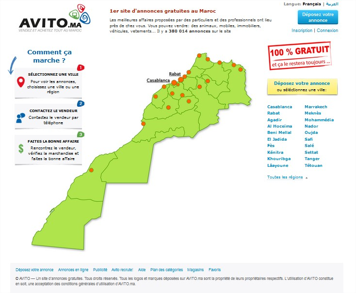 7 - Avito.ma Premier site de petites annonces au Maroc - Infos du ...