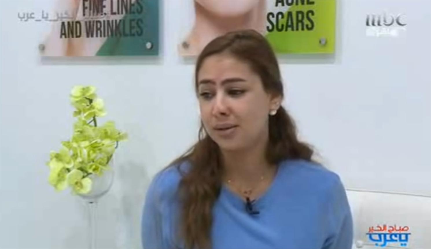 Khadidja est une fille marocaine victime d'un échec de quatre liftings