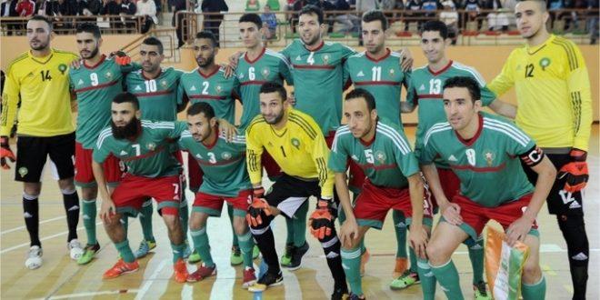 Le Maroc remporte la CAN 2016 Futsal