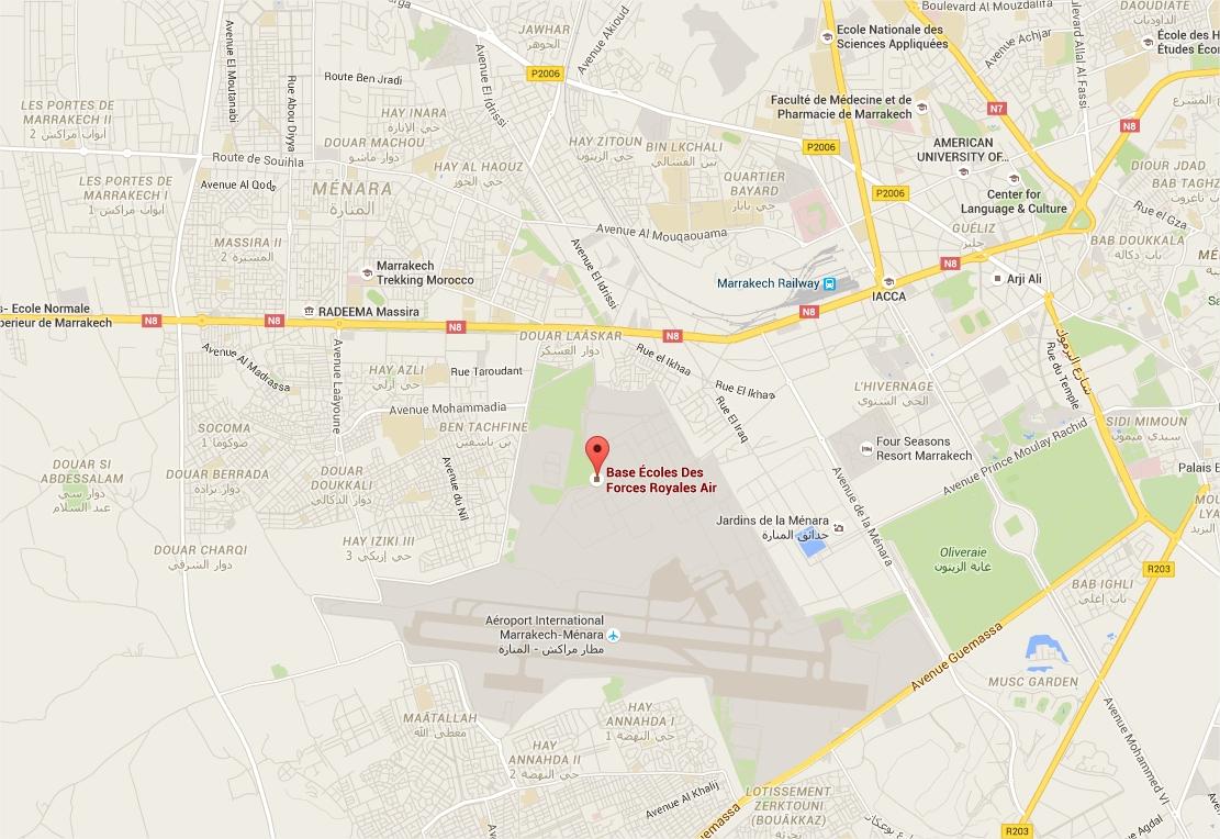 Adresse Marrakech Air Show