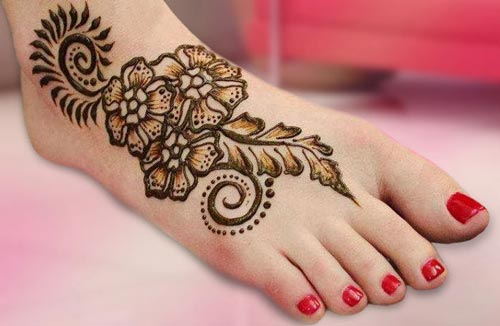 Henna Mehndi Designs for Hand and Feet