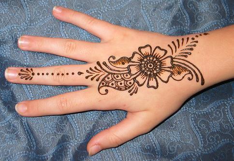 Henna marocaine