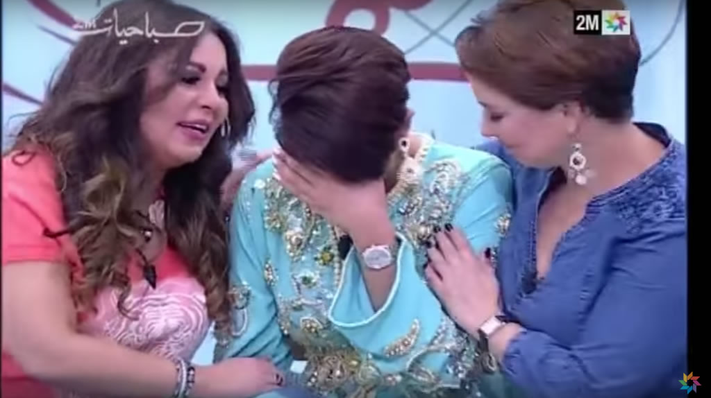 Leila Hadioui sabahiat 2M TV Maroc