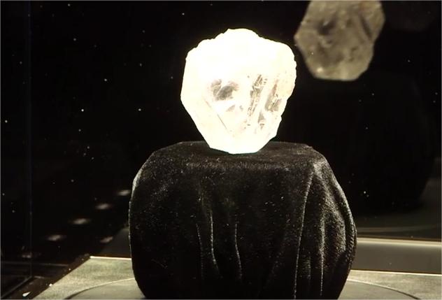 Plus gros diamant existant au monde