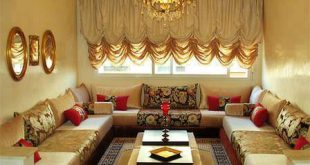 Salon maghribi gold