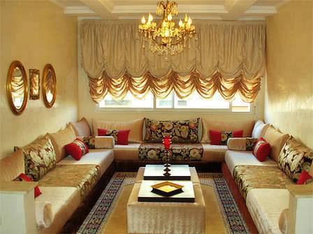 Salon maghribi gold