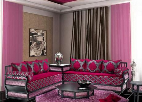Salon maghribi moderne