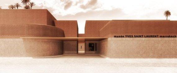L'ouverture du  musée Yves Saint Laurent pour octobre 2017 à Marrakech