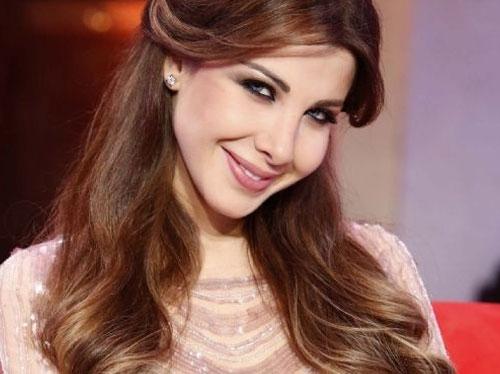 Nancy ajram, fête la naissance de Moulay Ahmad
