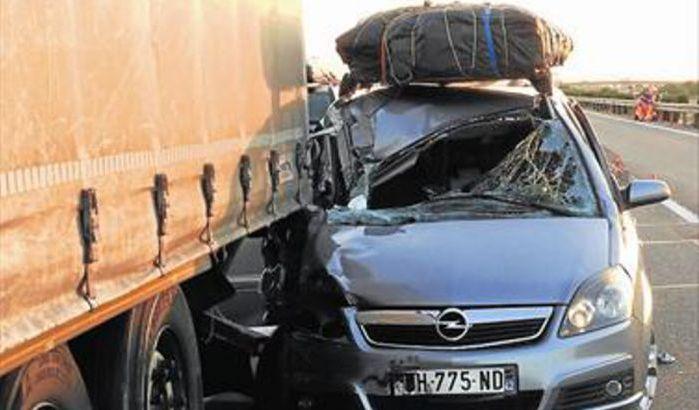 Espagne : la mort d'une marocaine dans un accident