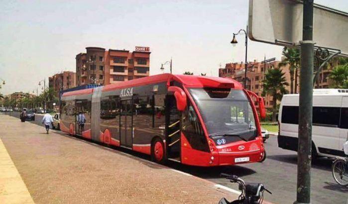 MARRAKESH : Lancement du Bus électrique