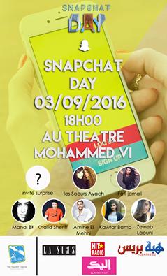 le snapchat day est enfin au Maroc