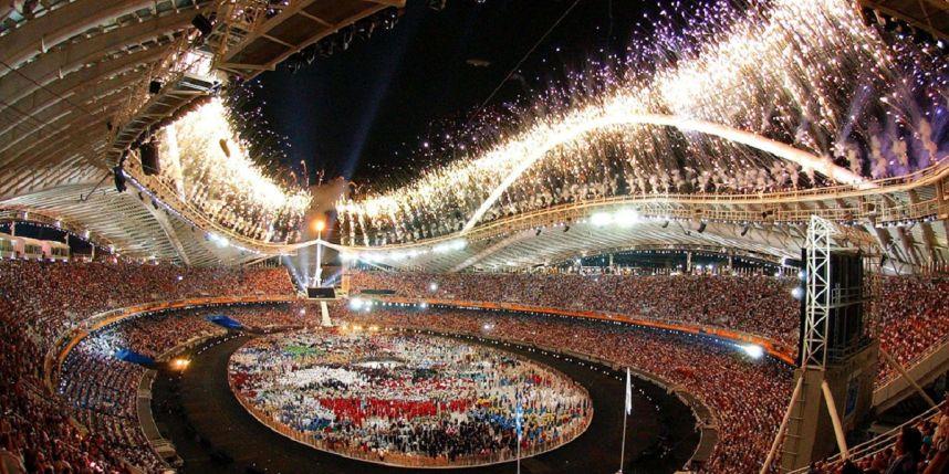 La cérémonie d'ouverture des jeux olympiques 2016