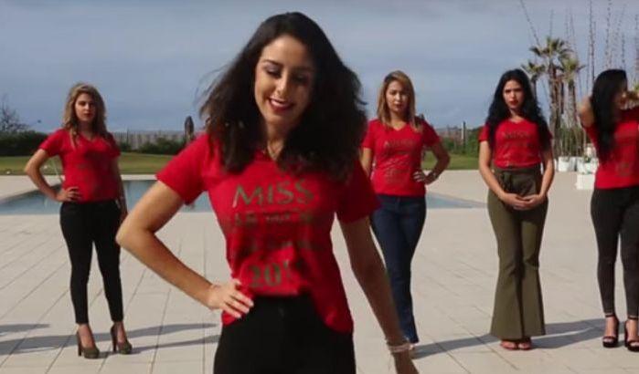 Miss Arab World : Le casting au Maroc ( Vidéo )