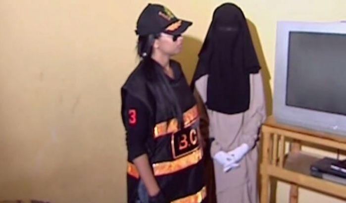 Les femmes terroristes au prison