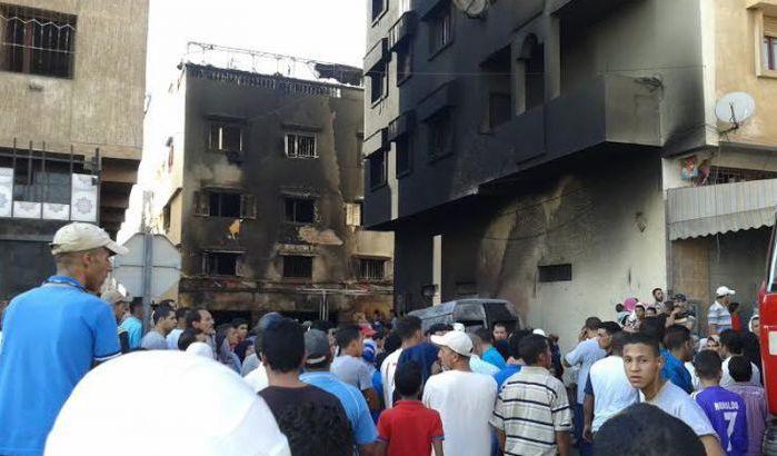 Salé : Des immeubles dévastés par les flemmes