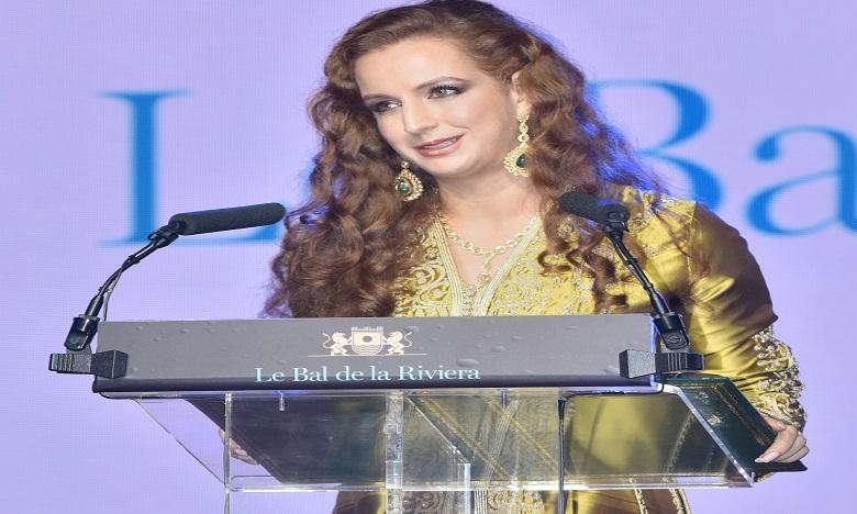 Lalla Salma reçoit le prix 'Tribute Award'