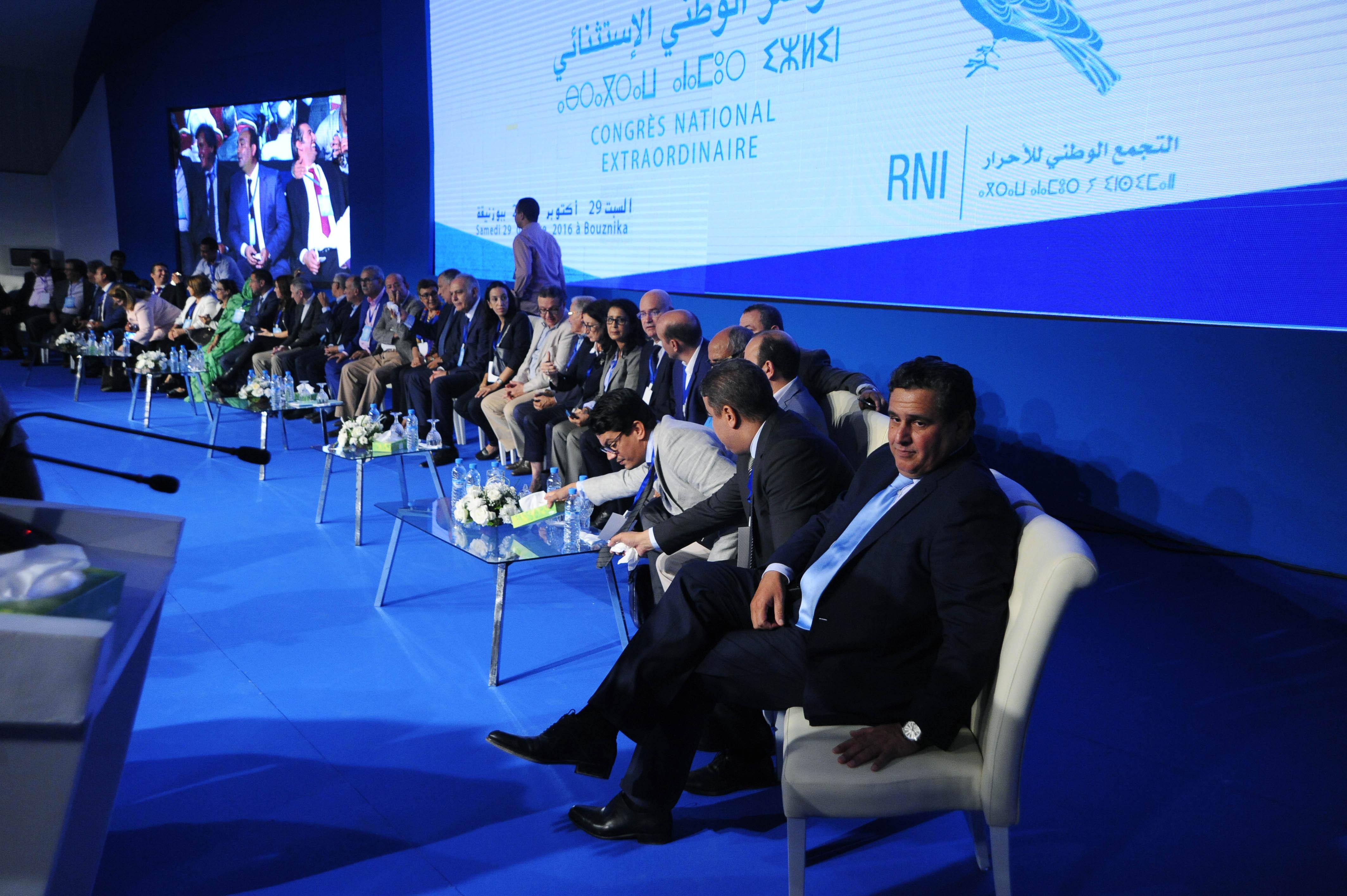 Akhannouch, élu président du RNI